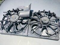 Radiator Fan Motor Fan Assembly VIN N 4th Digit Fits 97-05 MALIBU 141354