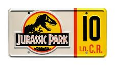 Jurassic Park | Jeep Wrangler Sahara | #10 | STAMPED Replica Prop License Plate