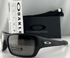 Oakley Turbine Sunglasses OO9263-42 Matte Black Frame Silver Mirrored Prizm Lens