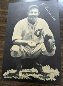 Vintage 1933 photo of Gabby Hartnett, Chicago Cubs Hall of Fame catcher