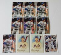 2020 Topps Chrome Prizm Refractor Jeff McNeil #70 Series 1 Future Stars #48 And8