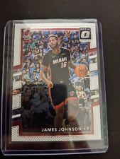 2017-18 Donruss Optic #77 James Johnson Miami Heat
