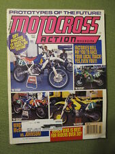 1995 July MOTOCROSS ACTION Magazine moto x mx dirt bike racer AHRMA Vintage