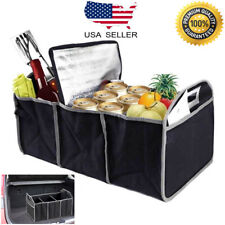 Trunk Organizer Collapsible Folding Caddy Car Truck Auto Storage Bin Bag NEW