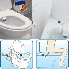ABS White Bathroom Smart Toilet Bidet Non Electric Washlet Sprayer Cold Water