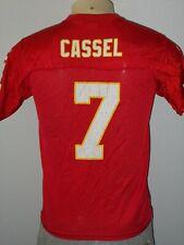 Matt Cassel #7 Kansas City Chiefs Red Reebok Team NFL Football Jersey Youth L