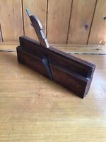 Antique Vintage Wooden Moulding Plane - Rebate Plane - MARPLES & SON