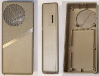 Walkie Talkie TRANSCEIVER handheld RADIO Transmitter - Receiver kit plastic case