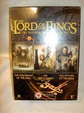 TOLKIEN THE LORD OF THE RINGS TRILOGY 3 X DVD BOXED SET DVDS NEW SEALED BARGAIN