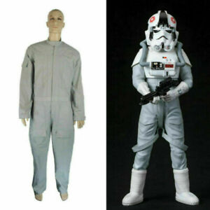 Star Wars AT-AT Driver Gray Jumpsuit Costume Cosplay Costume Tailor-made