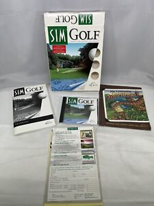 SimGolf - PC - Simulation Golf Game - Without Golf Balls Windows 95