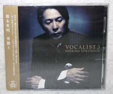 Hideaki Tokunaga Vocalist 3 Taiwan CD