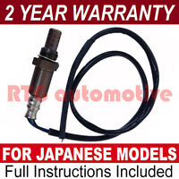 FOR TOYOTA YARIS VERSO 1.3 REAR 4 WIRE UNIVERSAL LAMBDA OXYGEN SENSOR EXHAUST