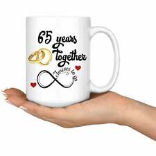 65th Wedding Anniversary Gift For Him And Her Married For 65 Years