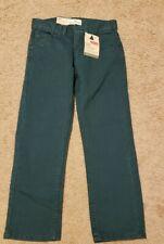 NWT Levi's 513 Slim Straight Corduroy Pants, Size 8, Ponderosa Pine