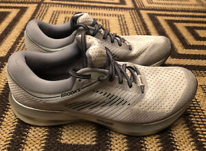 Brooks Levitate~Mens Size 11.5~Gray Running Jogging Walking Athletic Shoes VG