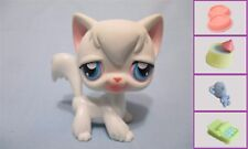 LITTLEST PET SHOP CAT KITTY ANGORA LONG HAIR WHITE #9+1 FREE Access 100% Authen