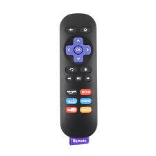 New Replace Ir Remote for Roku 1 2 3 4 Lt Hd Xd Xs with Netflix Youtube Vudu Key
