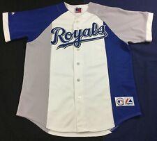 Vintage Kansas City KC Baseball Majestic Jersey Size48