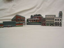 Lot of 4 Shelf Sitters Denver, Pa Cocalico Fire Co Bank Hometowne 1996-2000 Vgc