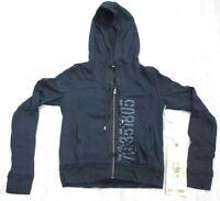 """Da-Nang Surplus Women's Hooded Sweater """"7O351805"""" BLACK PDC31381705 X-SMALL XS"""