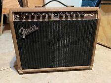 "Fender Acoustasonic 90 Acoustic Combo Amp 90W 1x8"""