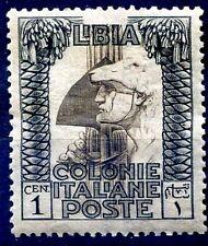 LIBIA 1921 - PITTORICA CENT. 1  NUOVO **