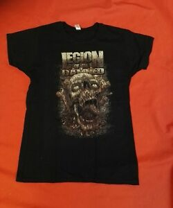 LEGION OF THE DAMNED Girlie Shirt / Größe M oder L / NEU - Death Thrash Metal