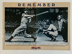"Joe DiMaggio NY Yankees Signed Autograph 15.5"" x 11"" Magazine Page Photo PSA DNA"