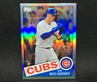 2020 Topps Chrome Nico Hoerner RC Chicago Cubs Rookie #12 85TC-12 1985 Insert
