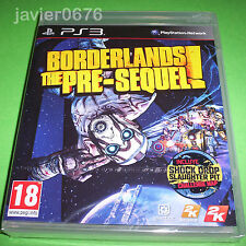 BORDERLANDS THE PRE-SEQUEL NUEVO Y PRECINTADO PAL ESPAÑA PLAYSTATION 3
