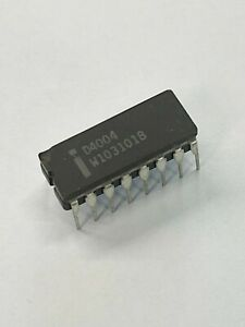 Intel 4004 - The First Microprocessor - NOS,D4004,DC 8101,Malaysia,Chipped,Works
