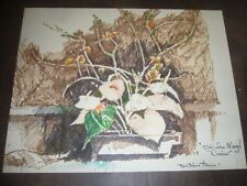 Original art on paper by Paul Blaine Henrie 37 3/4 x 30 1/4""
