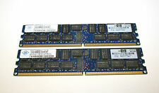 8GB 2 x 4 GB SERVER RAM NANYA NT4GT72U4ND0BV-3C pc-5300p 667MHz REG ECC