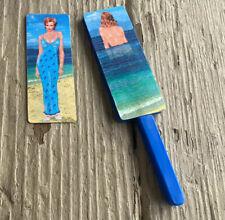 "Vintage ""Bathing Beauty"" Risqué Paddle Magic Trick/magnetic Close Up Magic"