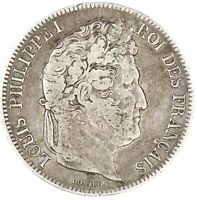 Raw 1843 France 5 Francs Uncertified Ungraded Circulates French Silver Coin