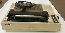 Vintage Epson FX-80+ dot matrix terminal printer, model FX-80II