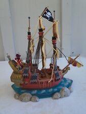 Disney Peter Pan Captain Hook Pirate Ship-Electric Light Up