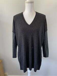 Womens Top Size 10 Charcoal The White Company <Z3337