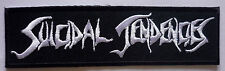 SUICIDAL TENDENCIES embroidered strip patch Cyco Miko D.R.I. Infectious Grooves