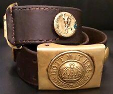 Imperial German, Ww1, Souvenir/Hate Belt w/ M1895 Buckle &12 Uniform Buttons