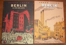 BERLIN n° 1 e 2 serie completa - di Jason Lutes ed. COCONINO