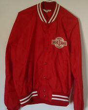 Vintage Indiana Hoosiers Basketball Jacket - Size L Large - Chalk Line - Satin