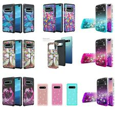Samsung Galaxy S10 Slim Hybrid Hard Shockproof Phone Cover Cell Phone Case Plus