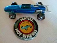 Vintage Mattel Hot Wheels Blue Indy Eagle - Original Owner - Excellent