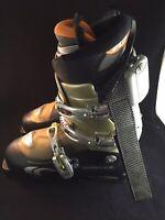 Salomon Ellipse 9.0 Ski Boots Size 28.5 Men's 10.5 w/ Therm-ic Footwarmers