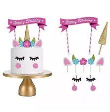 Unicorn Cake Topper Decoration Kit