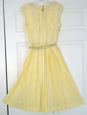 Vintage Dress by Carlye Pleated Junior Size Unknown