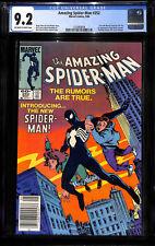 AMAZING SPIDERMAN 252  CGC 9.2 - Amazing Fantasy 15 cover swipe