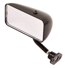 SPA Design Formula style Convex glass Mirrors in Black Left Hand - Caterham